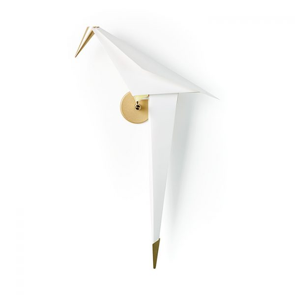 moooi perch light wall sconce on a white background