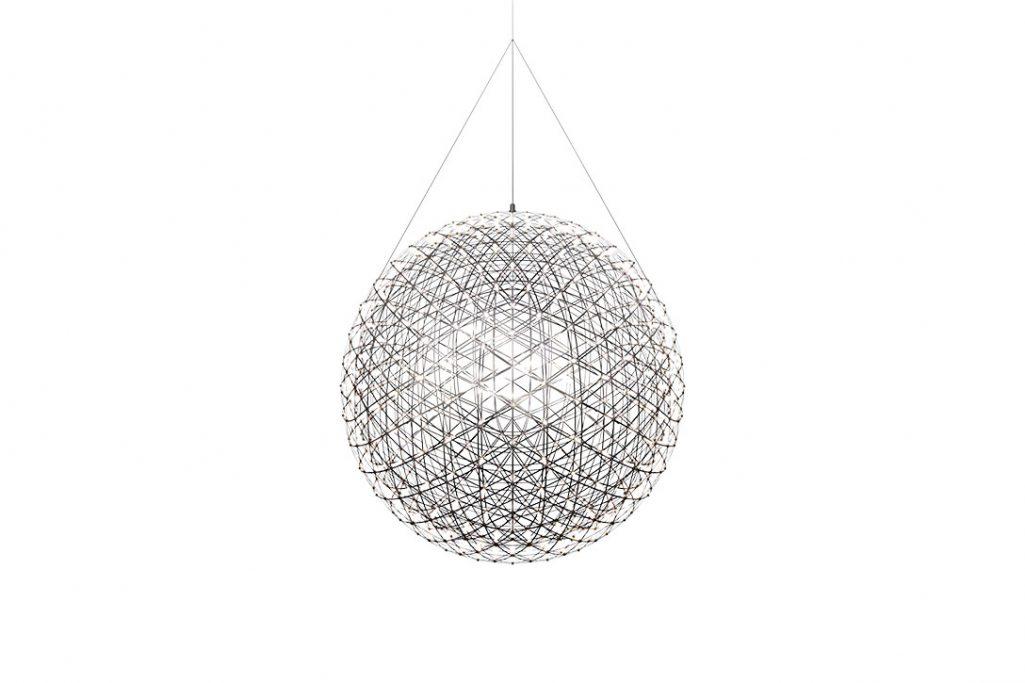 moooi raimond r127 pendant light on a white background