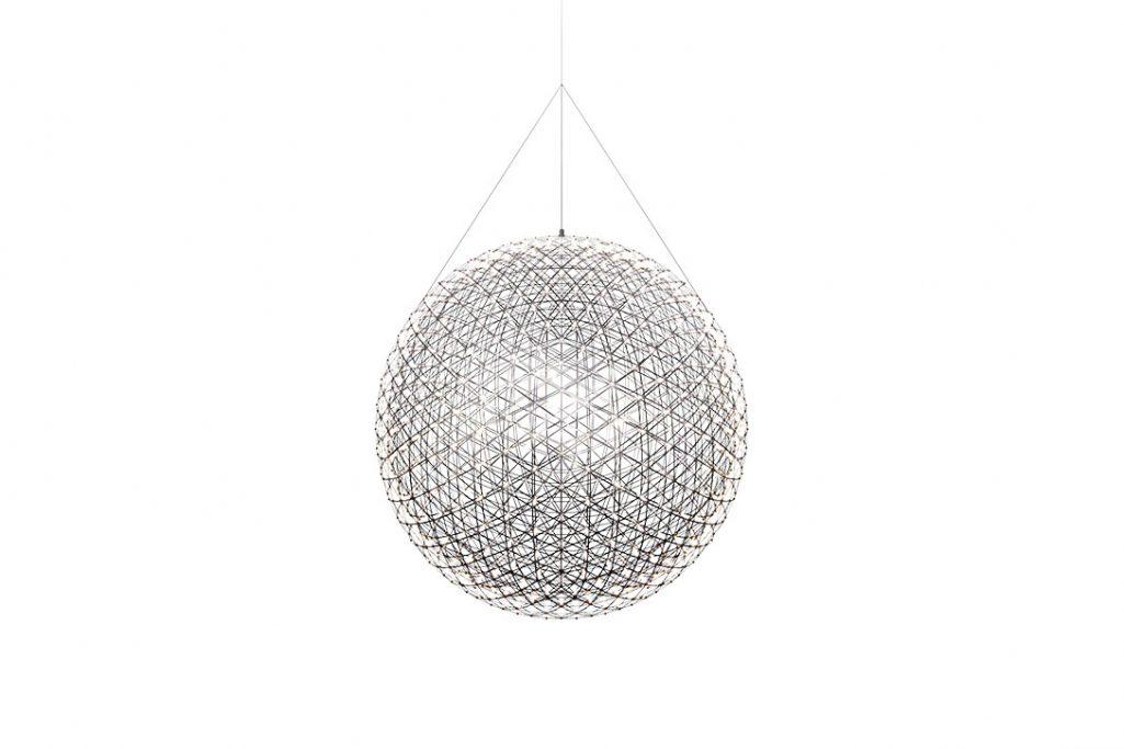 moooi raimond r163 pendant light on a white background
