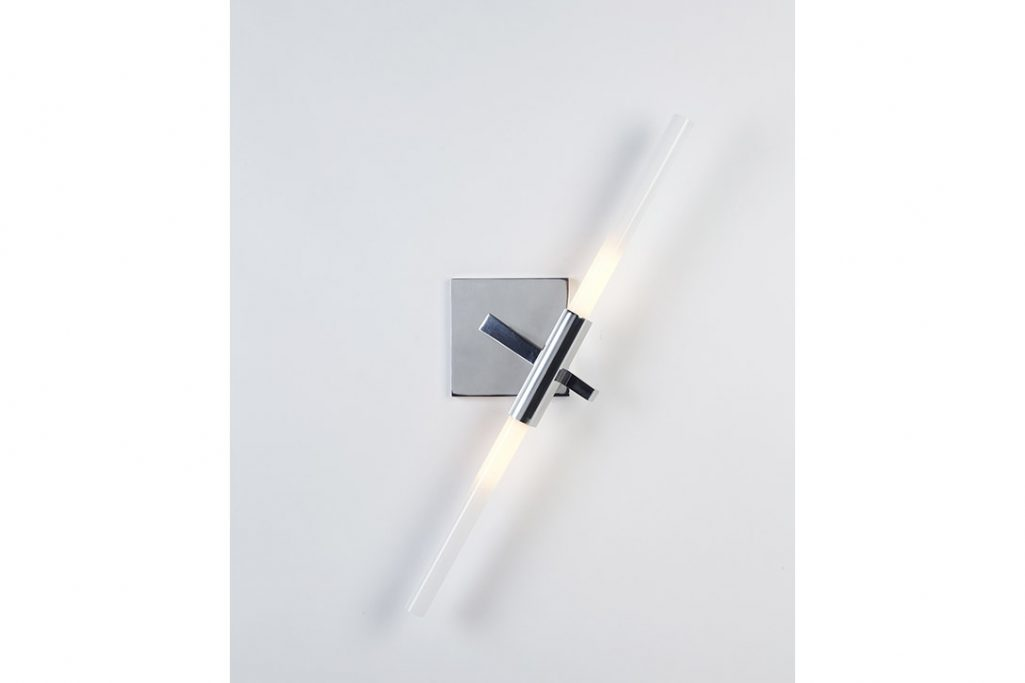 roll & hill agnes sconce 2 polished nickel finish