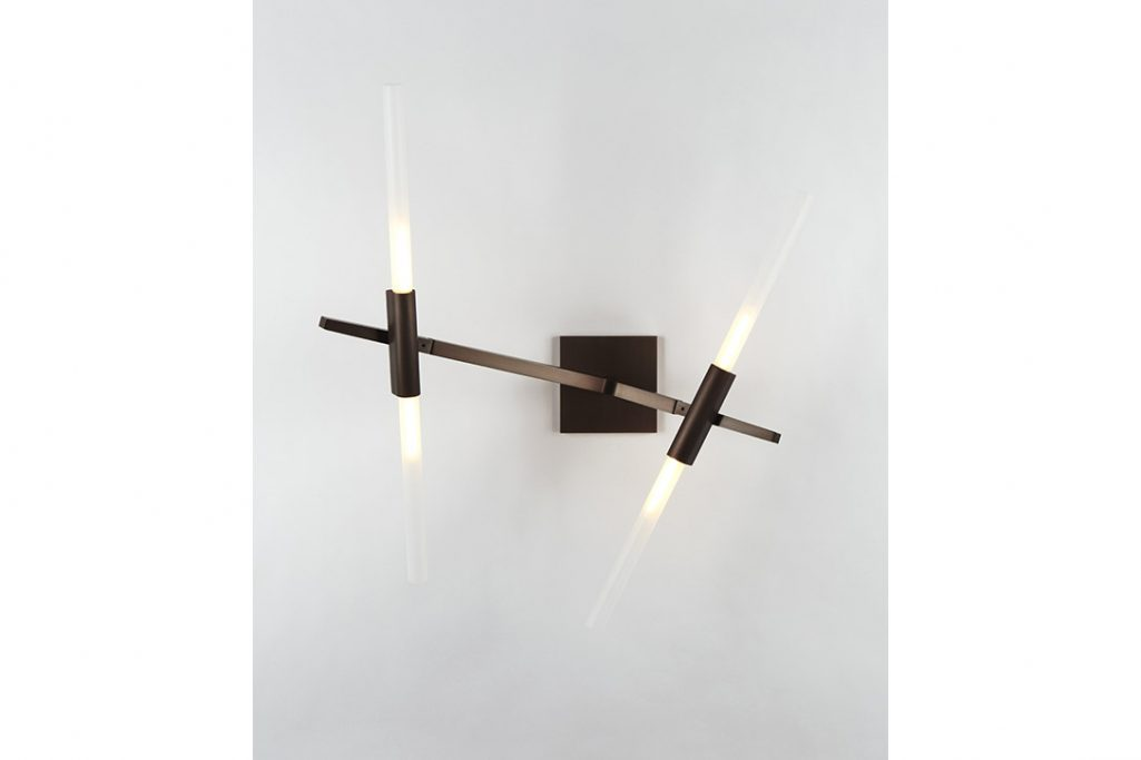 roll & hill agnes sconce 4 bronze finish