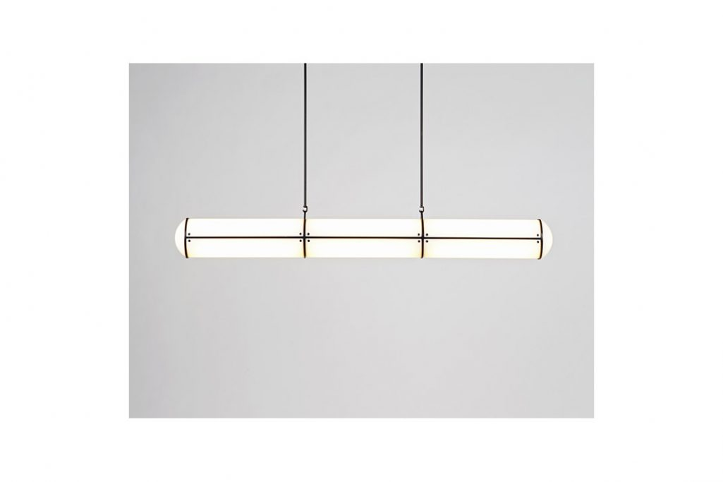 roll & hill endless pendant 3 units in black