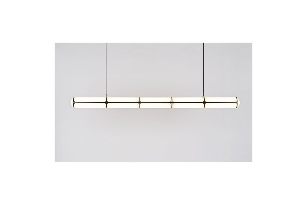 roll & hill endless pendant 5 units in black