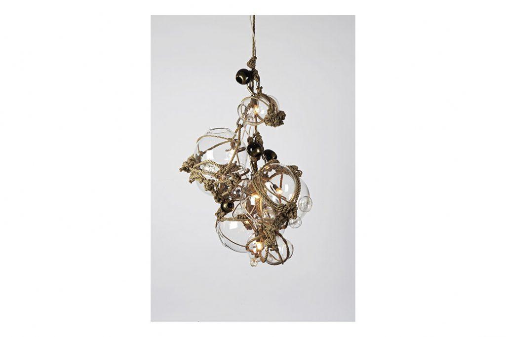 roll & hill knotty bubbles chandelier 3/2/5