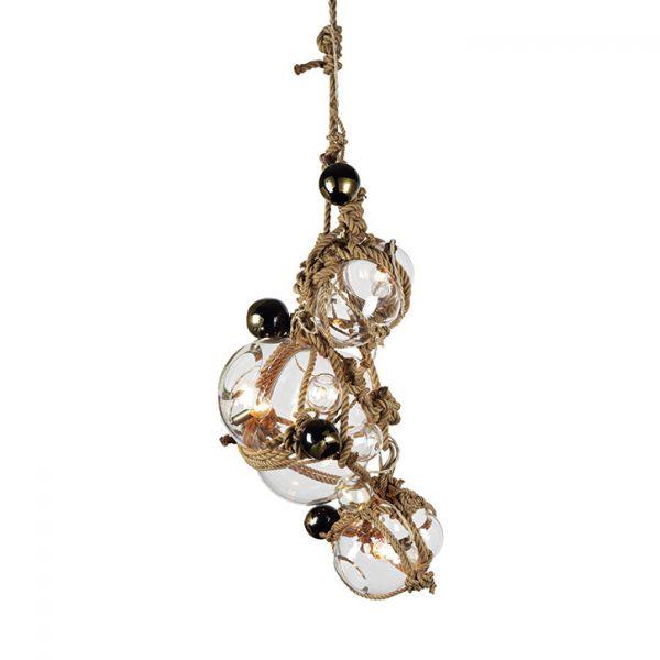 roll & hill knotty bubbles chandelier 1/2/5