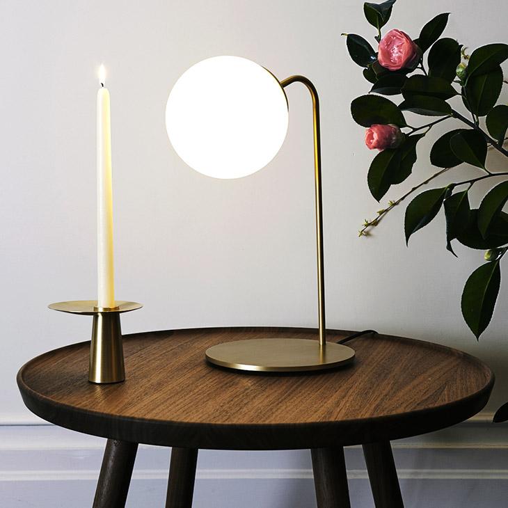 roll & hill modo desk lamp in situ
