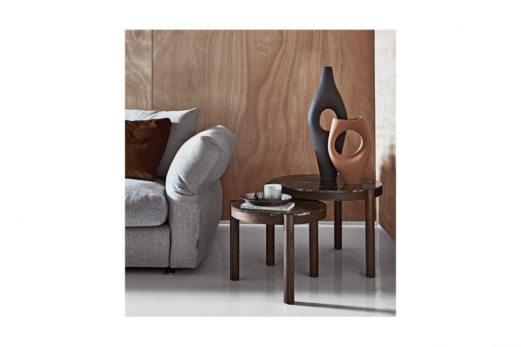 flexform gustav side tables in situ