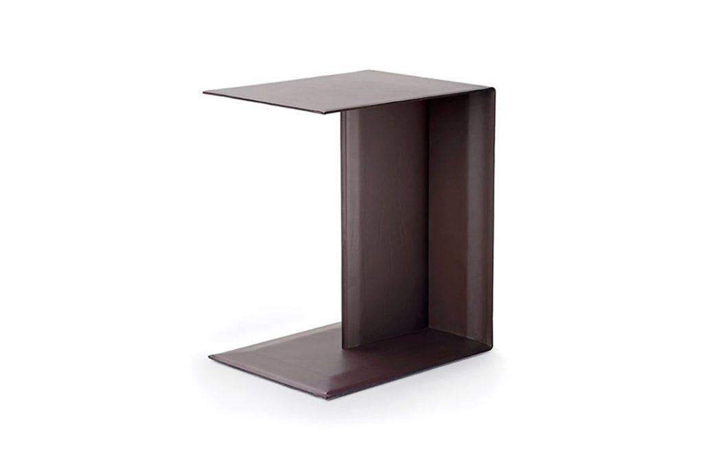 flexform plain side table on a white background