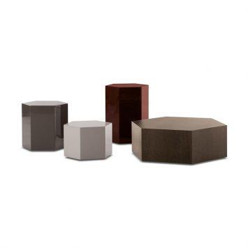 minotti aeron tables on a white background