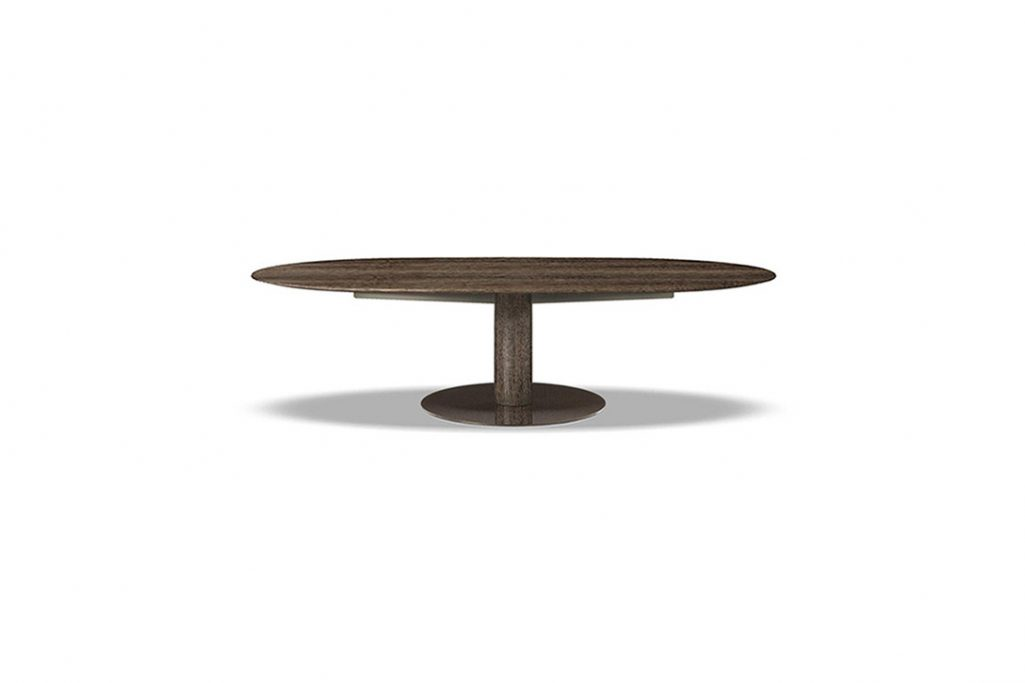 bellagio dining table oval on a white background