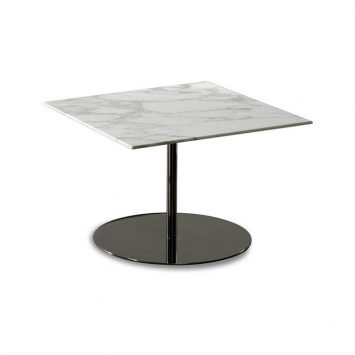 minotti bellagio side table on a white background