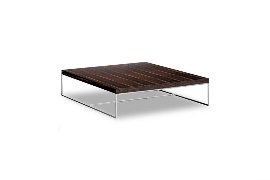 minotti calder coffee table on a white background