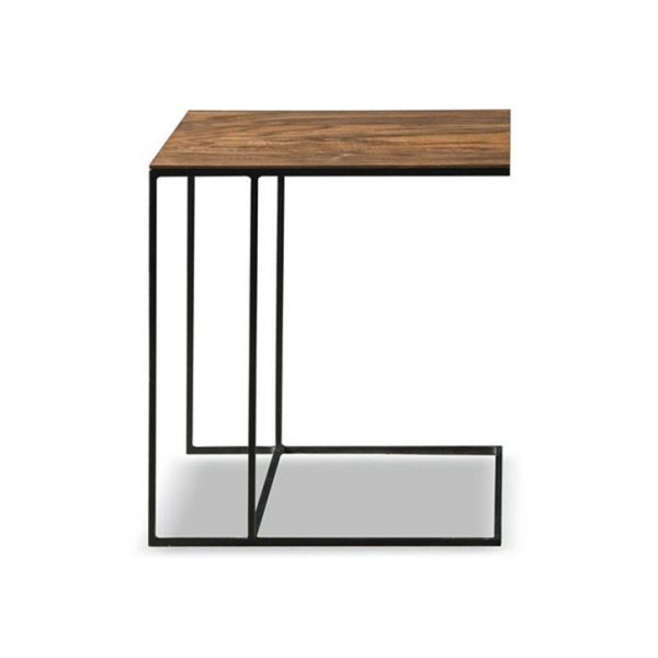 minotti leger side table on a white background