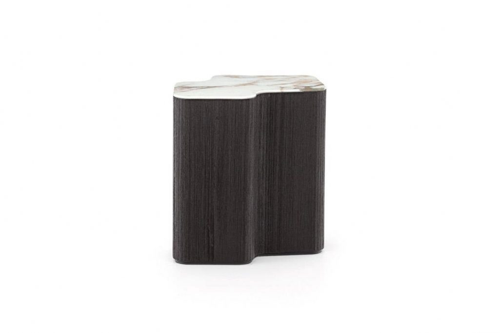 minotti lou side table on a white background