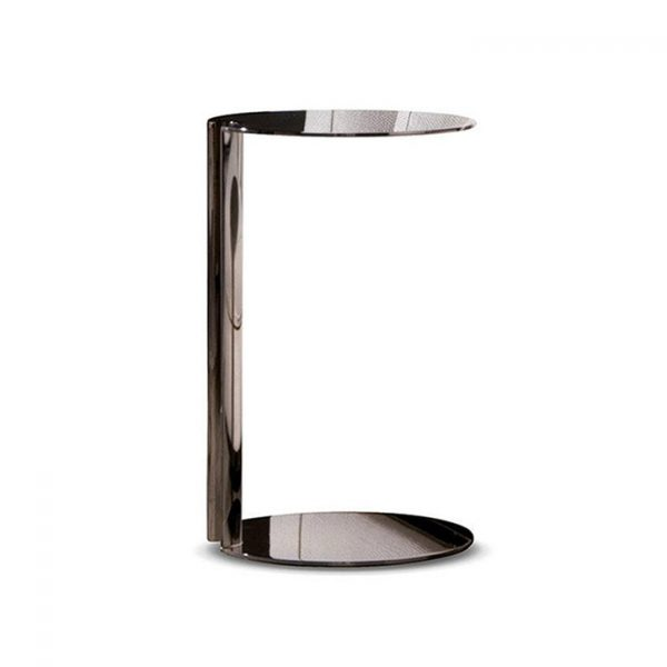 minotti nay side table on a white background