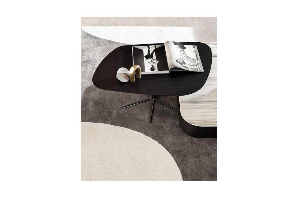 minotti rays coffee table in situ