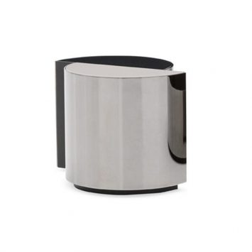 minotti shields side table on a white background