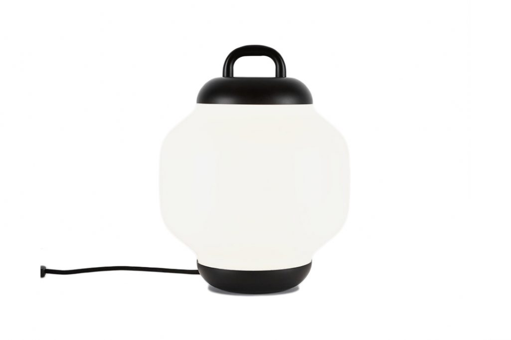 roll & hill esper table lamp on a white background