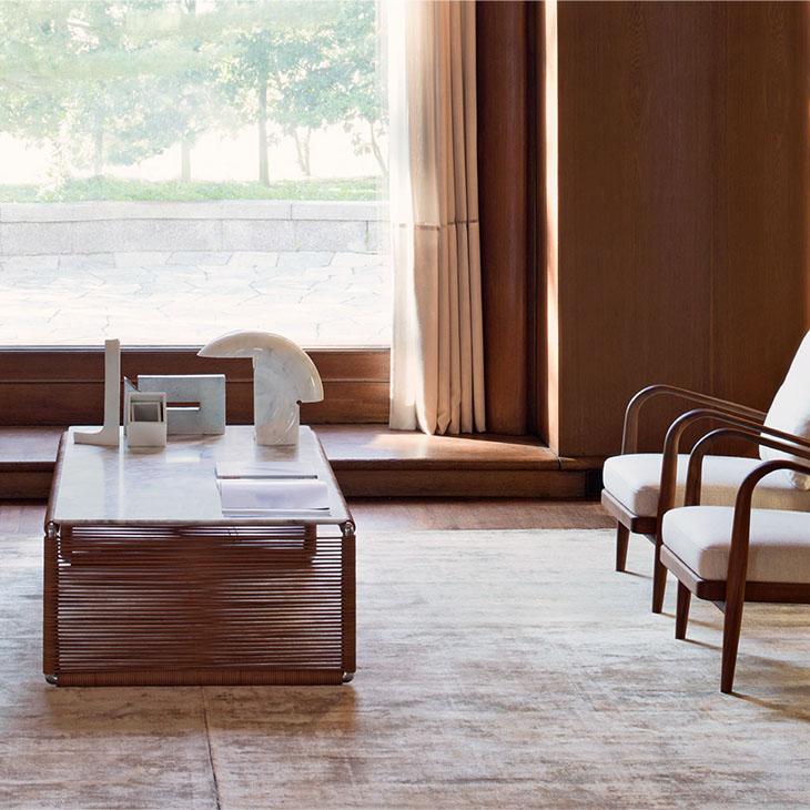 flexform tindari coffee table in situ