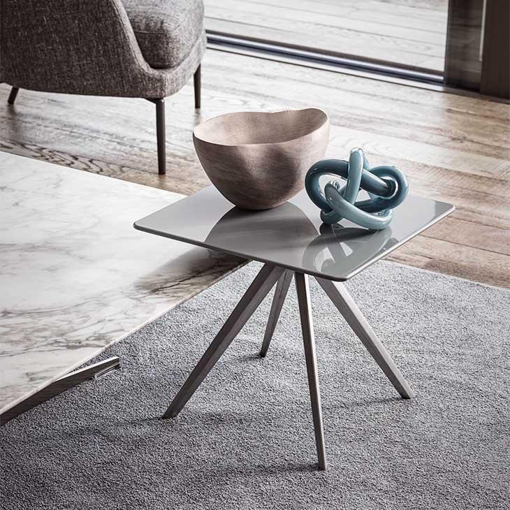 flexform zefiro side table in situ