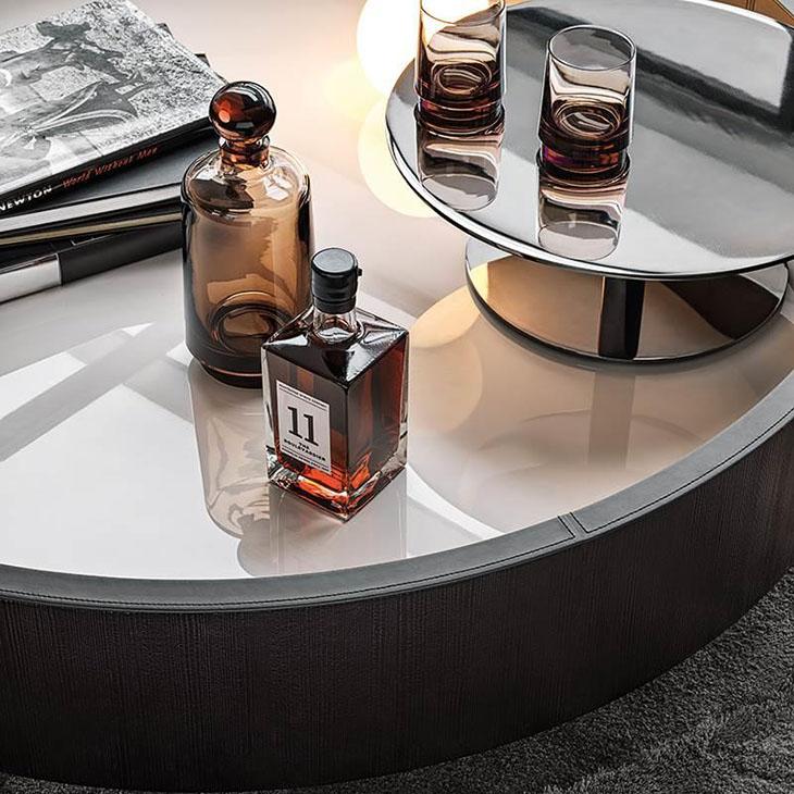minotti jeff coffee table in situ