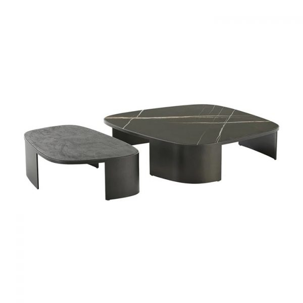 poliform koishi coffee tables on a white background