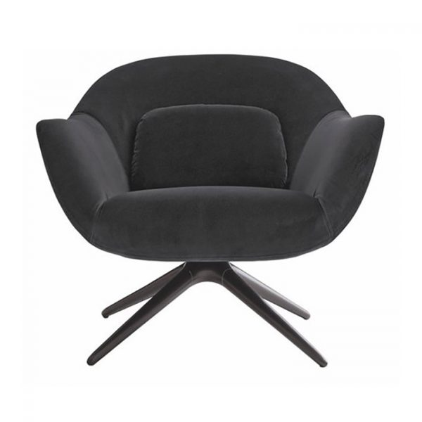 poliform mad armchair on a white background