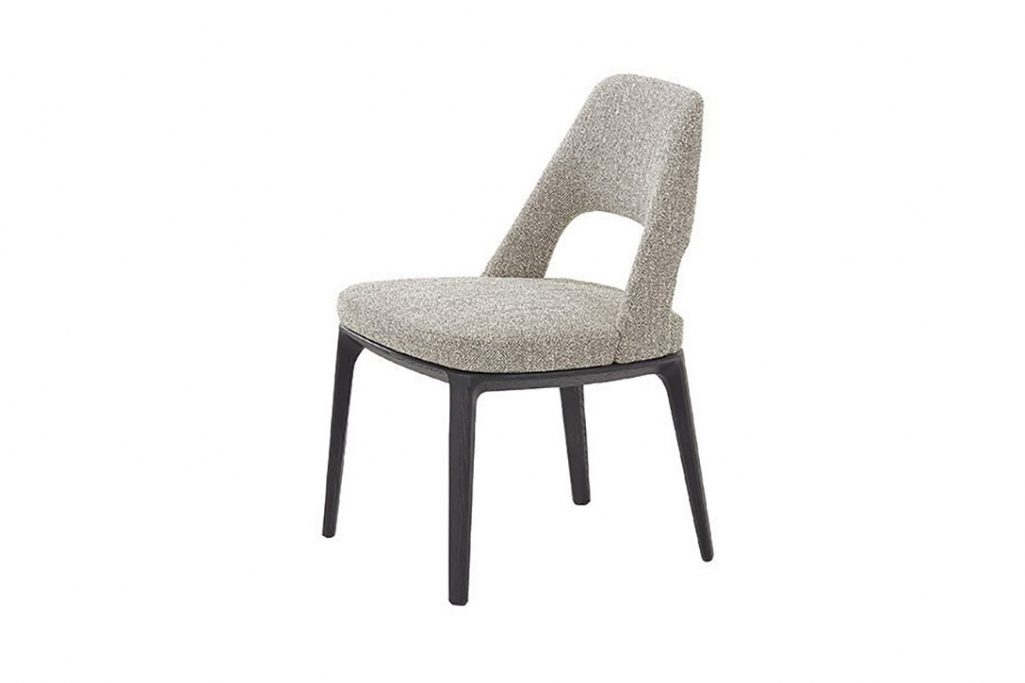 poliform sophie lite dining chair on a white background
