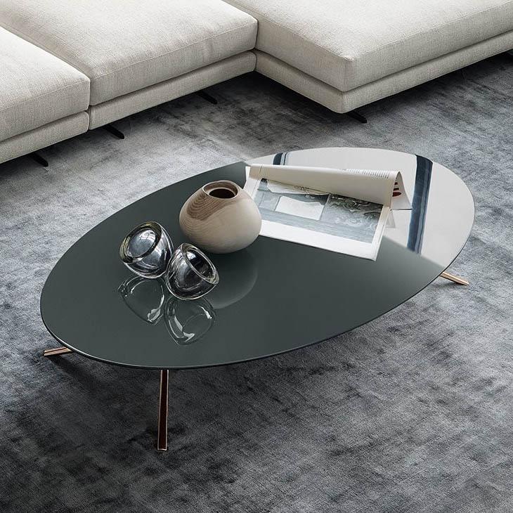 poliform mondrian coffee table in situ