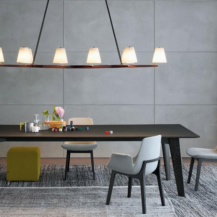 poliform ventura dining chairs in situ
