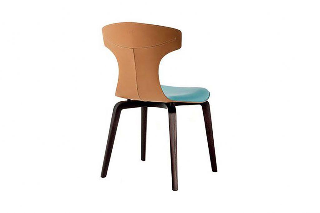 poltrona frau montera dining chair