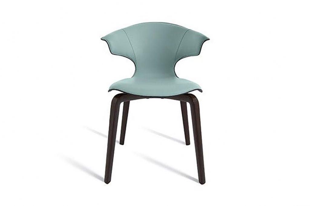 poltrona frau montera dining arm chair