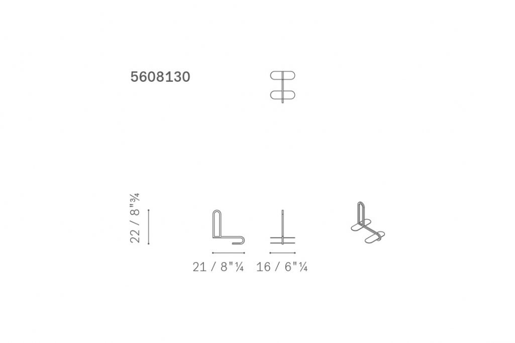 line drawing and dimensions for poltrona frau ren bookcase bookend