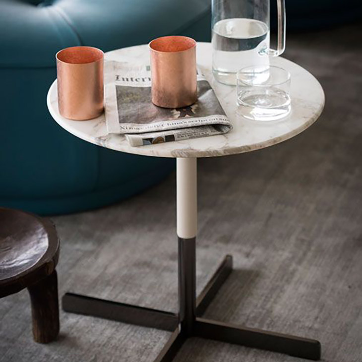 poltrona frau bob side table in situ