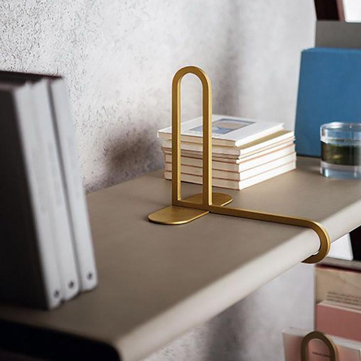 poltrona frau ren bookcase bookend in situ