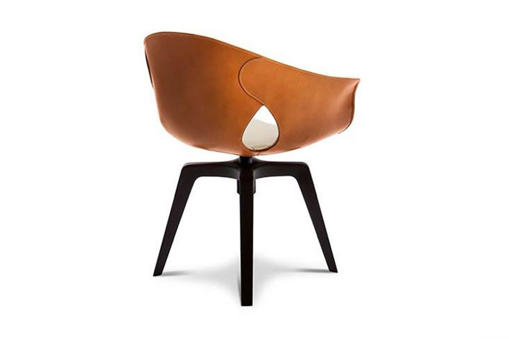 poltrona frau ginger dining chair
