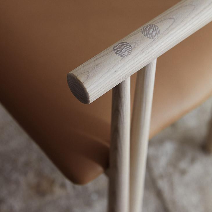 de la espada elliot dining chair in situ