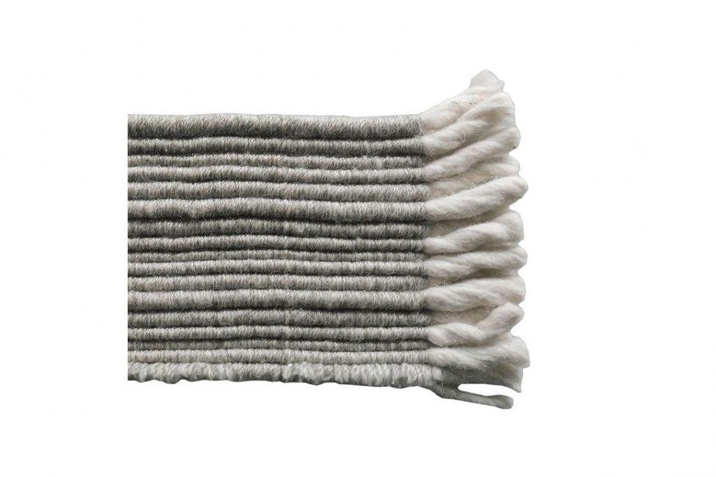 b&b italia timo rug grey swatch