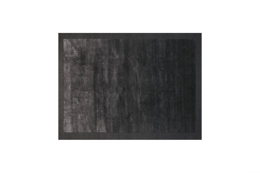 poliform frame rug carbone