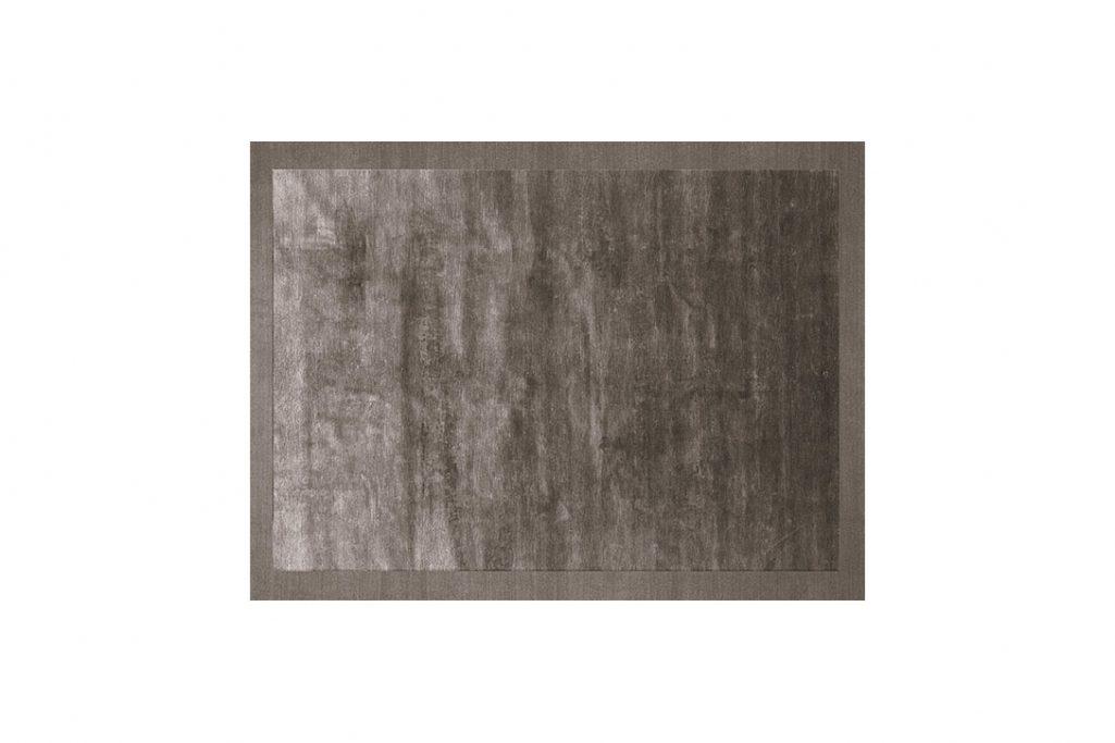 poliform frame rug grey